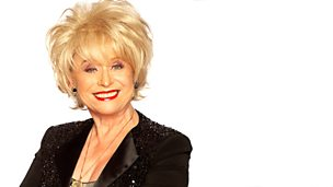 Image for Barbara Windsor sits in