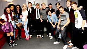 Image for with Little Mix, Mcfly and One Direction!