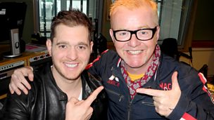 Image for Michael Bublé joins us for Breakfast