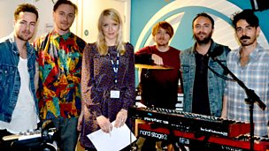 Image for Local Natives are live in session.
