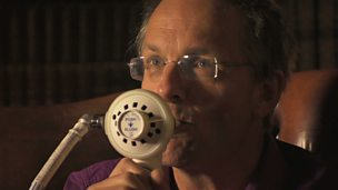 Image for Michael Mosley tries laughing gas
