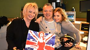 Image for Antony Cotton, Geri Halliwell and Judy Craymer