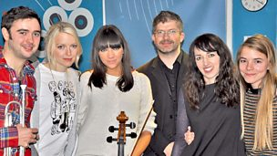 Image for Rachel Zeffira is live in session