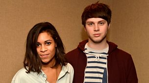 Image for Monday: AlunaGeorge Hot For 2013 Live Lounge