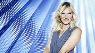 Image for Jo Whiley sits in