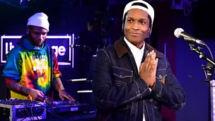 Image for A$AP Rocky Live Lounge Late