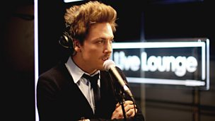 Image for Thursday: Tyler James in the Live Lounge