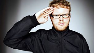 Image for Huw Stephens sits in