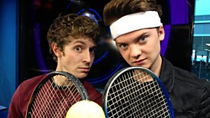 Image for Conor Maynard plays Pie Tennis