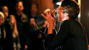 Image for Suede in session for Lauren Laverne