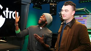 Image for Sam Smith is live in the studio!