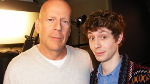 Image for Bruce Willis talks to Matt
