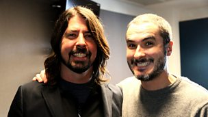 Image for Dave Grohl and The Strokes talk to Zane