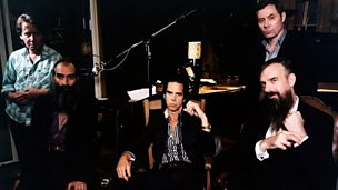 Image for Getting intimate with Nick Cave