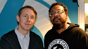 Image for Gilles Peterson with Om'Mas Keith in the studio