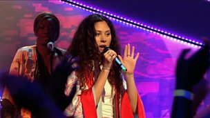 Eliza Doolittle singing.