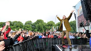 Image for Simple Minds - Hyde Park highlights