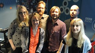 Image for Lanterns On The Lake live in session for Lauren Laverne