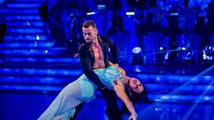 Image for Natalie and Artem dance the Rumba to Love The Way You Lie
