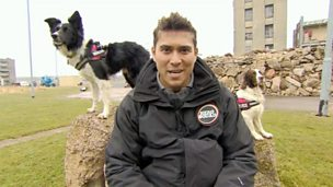 Rav with an Urban Search and Rescue Dog