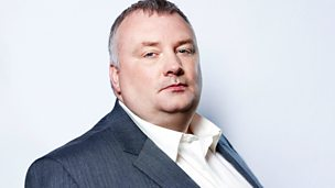 Image for Stephen Nolan sits in