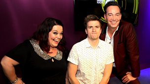 Image for Lisa Riley and Craig Revel-Horwood in studio