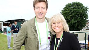 Image for Greg meets Russell Kane and Sue Barker
