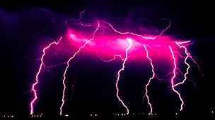 Image for A Postilion Struck by Lightning