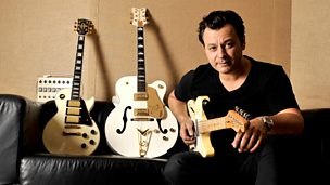Image for James Dean Bradfield sits in