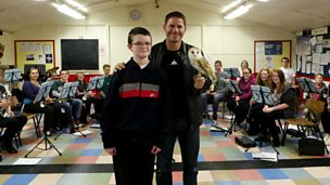 Image for Steve Backshall surprises Teen Hero Alexander!