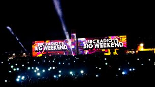 Image for Radio 1's Big Weekend Video Mapping (Calvin Harris)