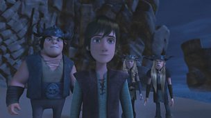Hiccup and the Riders