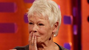 Image for Dame Judi Dench goes clubbing