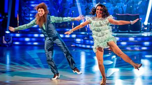 Image for Susanna Reid and Kevin Clifton Charleston to 'Bad Moon Rising'