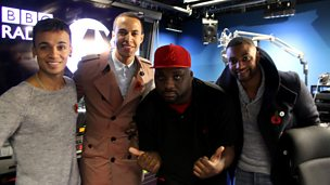 Image for JLS' final interview on 1Xtra with Ace