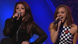 Little Mix performing