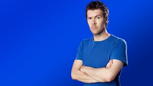 Image for Rhod Gilbert sits in