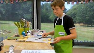 Charlie baking