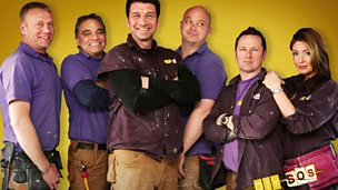 Image for Laura with the team from DIY SOS