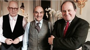 Image for David Suchet: Poirot was my 'friend'