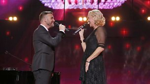 Image for Gary Barlow and Agnetha Fältskog - I Should've Followed You Home at Children In Need Rocks 2013