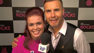 Lindsey and Gary Barlow