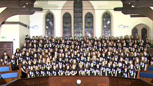 Image for Hexham choir perform Sing for BBC Children in Need