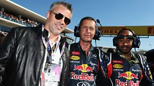 Image for Matt Le Blanc, Antonio Banderas & Sting at US Grand Prix