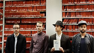 Image for Maxïmo Park's Paul Smith speaks to Lauren Laverne