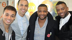 Image for Steve chats to JLS
