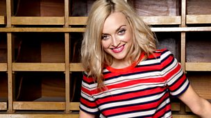 Image for Monday: Fearne gets her manky running feet out