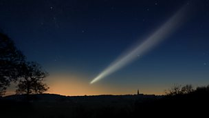Image for Comet ISON approaches the Sun