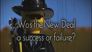 was the new deal a success or failure essay