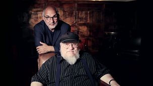 Image for Web exclusive: Game of Thrones writer George RR Martin talks to Alan Yentob